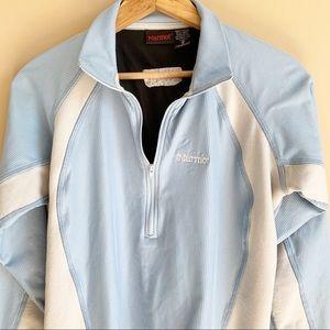 MARMOT pullover Windstopper N25 1/2 zip Jacket M